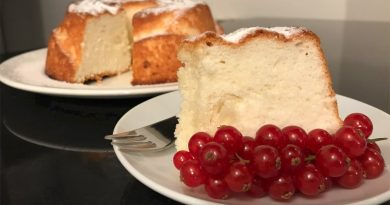 angel cake ricetta ristorazione con ruggi