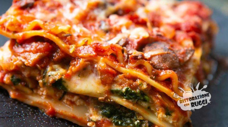 lasagna vegetariana ricetta facile ristorazione con ruggi