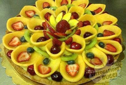 Come Decorare Una Crostata Di Frutta Ovvero Come Mettere La Frutta Ristorazione Con Ruggi