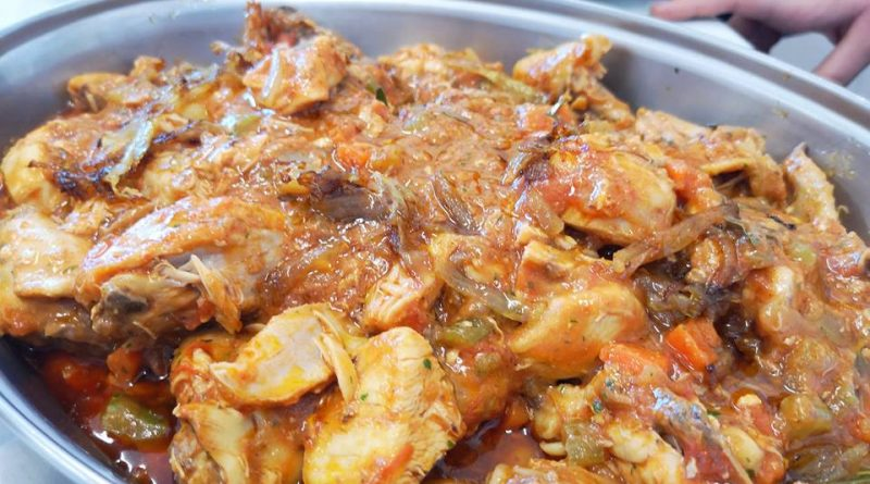 pollo cacciatora classico secondo piatto carne forno ristorazione con ruggi ricetta facile veloce casa