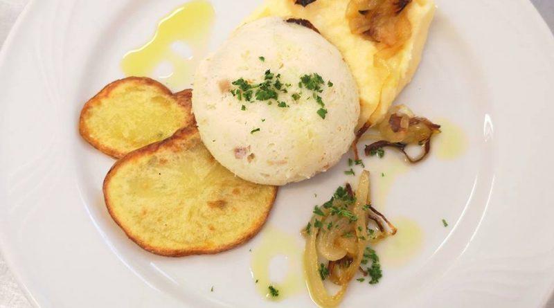 baccalà mantecato con papate e polenta ristorazione con ruggi