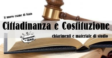 cittadinanza e costituzione esame di stato maturità ristorazione con ruggi