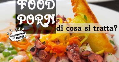 foodporn cosè come si fa come nasce spiegazione alberghiero ristorazione con ruggi